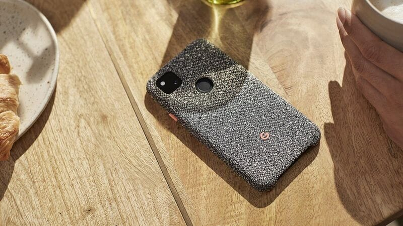 Google Pixel 4a Case Knit Cover