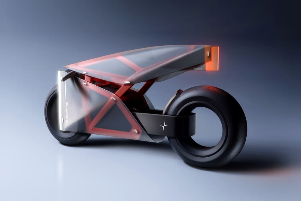 Translucent Motorcycle