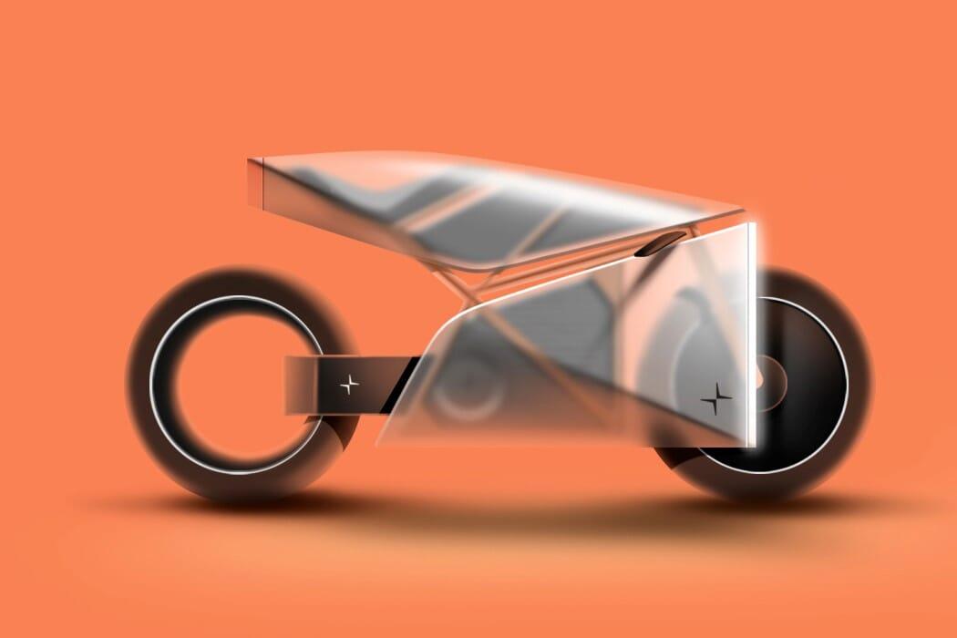 Polestar Aegis concept motorcycle